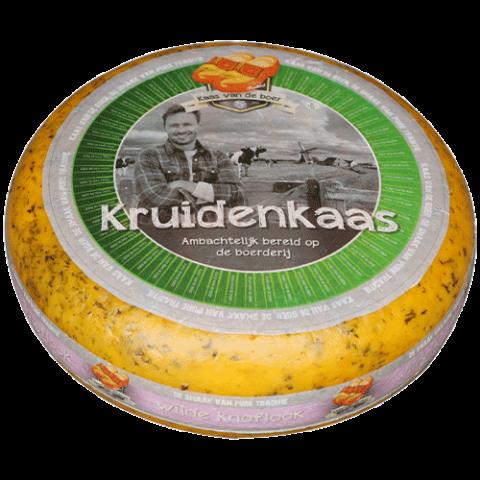 Сыр Фермерский BOERENKAAS WILDE KNOFLOK (с чесноком) фото