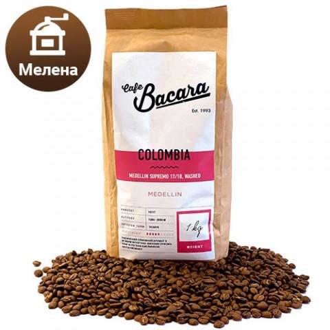 Кофе Colombia Supremo 1 кг. (молотый) фото