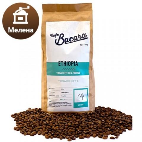 Кофе Ethiopia Yirgacheffe 1 кг. (молотый) фото