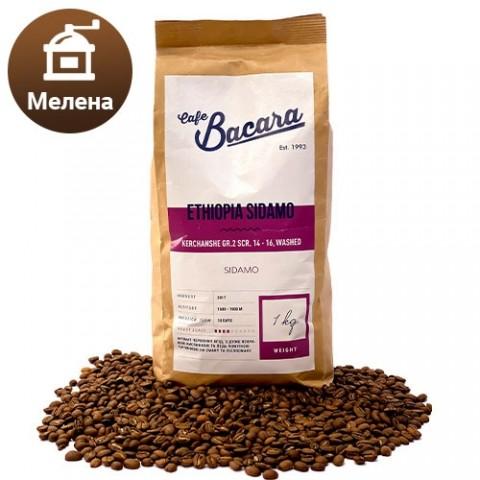 Кофе Ethiopia Sidamo 1 кг. (молотый) фото