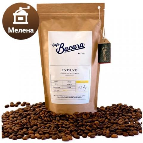Кофе Bacara Evolve 0.2 кг. (молотый) фото