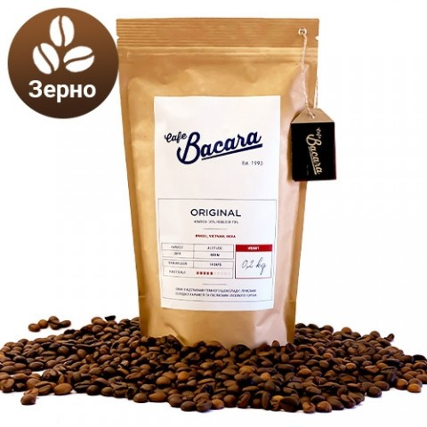 Кофе Bacara Original 0.2 кг. (зерна) фото