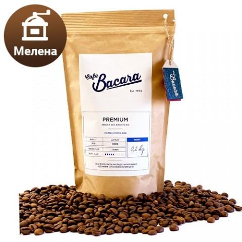 Кофе Bacara Premium 0.2 кг. (молотый) фото