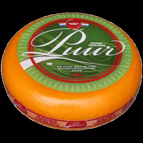 Сыр Гауда 48+ (Gouda) PUUR JONG BELEGEN (Полу выдержанный) фото