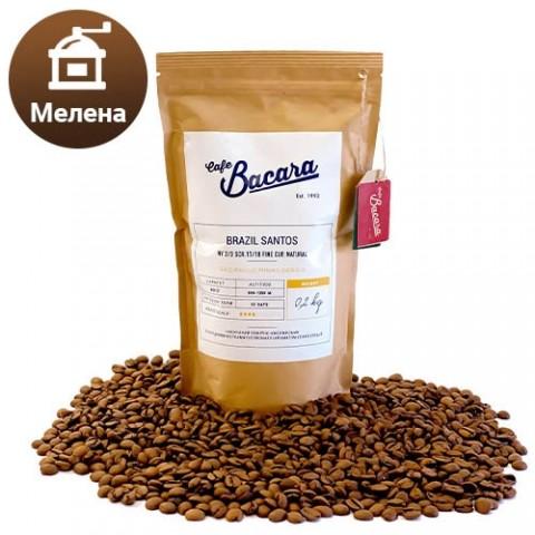 Кава Brazil Santos 0.2 кг. (мелена) фото