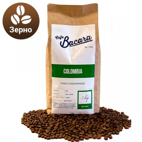 Кава Colombia Finca Casagrande 1 кг. (зерно) фото