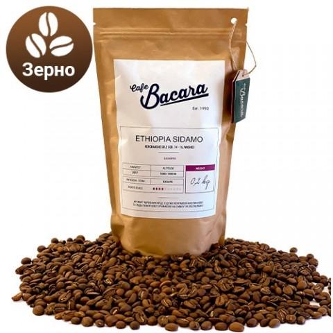Кава Ethiopia Sidamo 0.2 кг. (зерно) фото