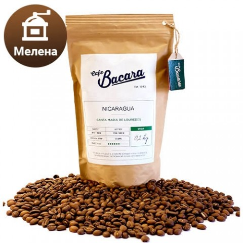 Кава Nicaragua Santa Maria de Louredes 0.2 кг. (мелена) фото