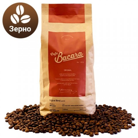 Кава Bacara Original 1 кг. (зерно) фото