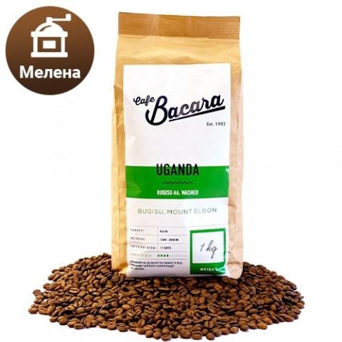 Кава Uganda Bugisu 1 кг. (мелена) фото